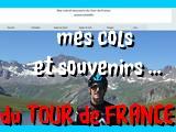 Mes cols et souvenirs du TOUR de FRANCE