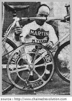 braquet vélo montagne pour un petit gabarit